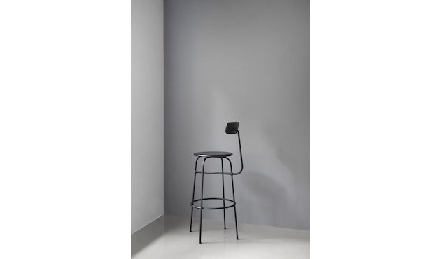 Menu - Afteroom Bar Chair - schwarz - 2