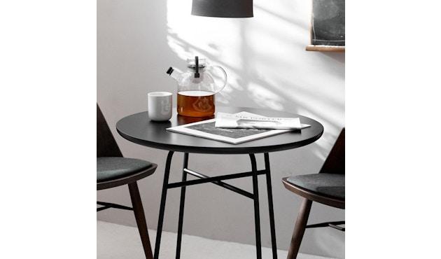 Menu - Table Afteroom Bar - Stratifié noir - 2