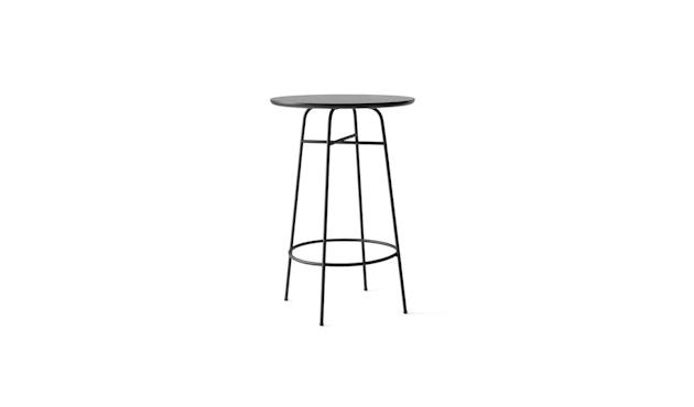 Menu - Table Afteroom Bar - Stratifié noir - 1