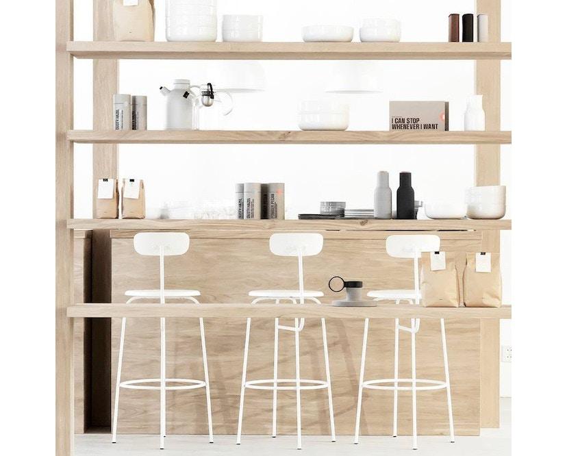 Menu - Afteroom Counter Chair - weiß - 4