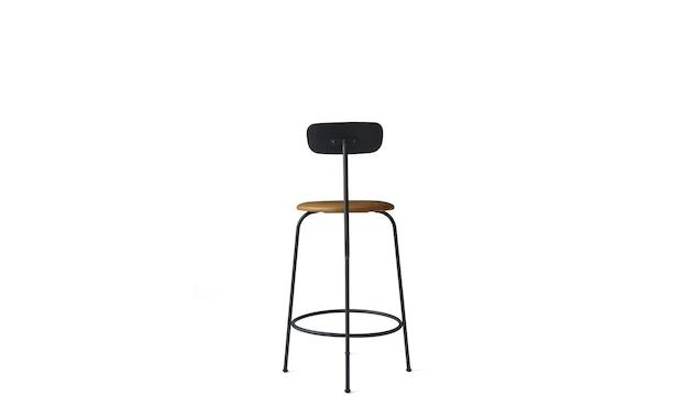Menu - Afteroom Counter Chair - Textiel - zwart - cognac - 3