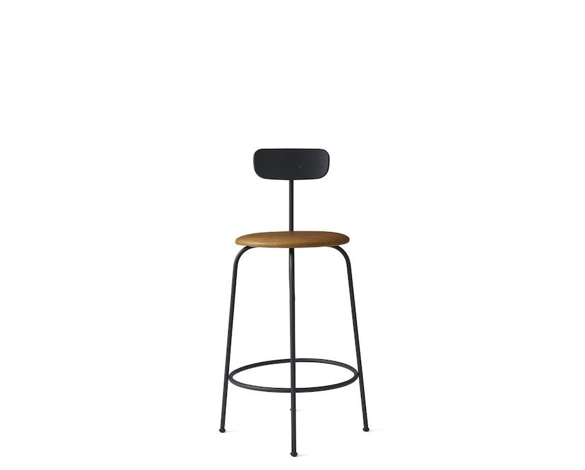 Menu - Afteroom Counter Chair - Textiel - zwart - cognac - 4