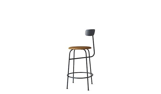 Menu - Afteroom Counter Chair - Textiel - zwart - cognac - 2