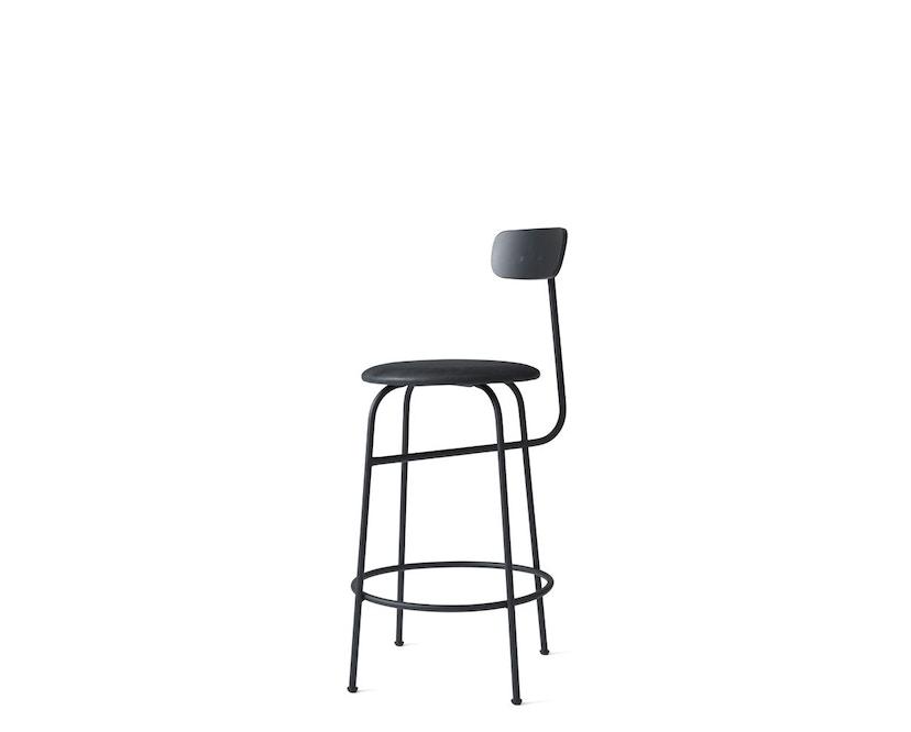 Menu - Afteroom Counter Chair - Textiel - zwart - zwart - 2