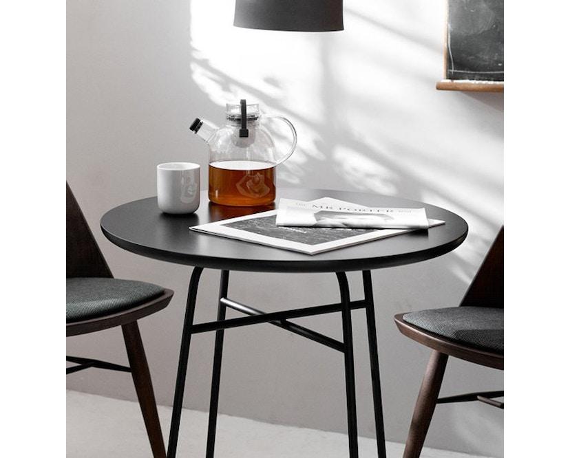 Menu - Afteroom Tisch Laminat - schwarz - 2