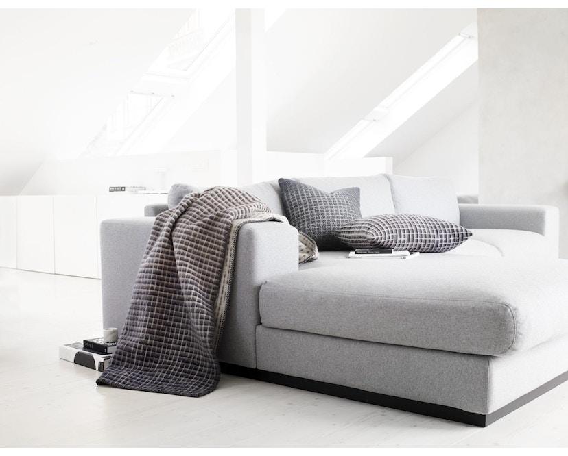 Roros Tweed - Agnes Decke - pink-grey-beige - 5