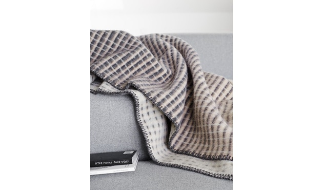 Roros Tweed - Agnes Decke - pink-grey-beige - 4