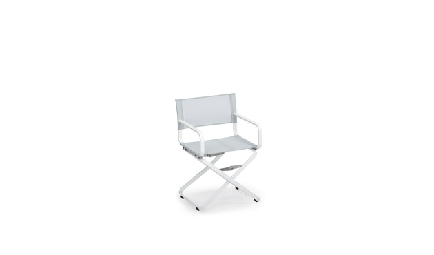 Weishäupl - Ahoi fauteuil - lichtgrijs - Alu/wit - 1