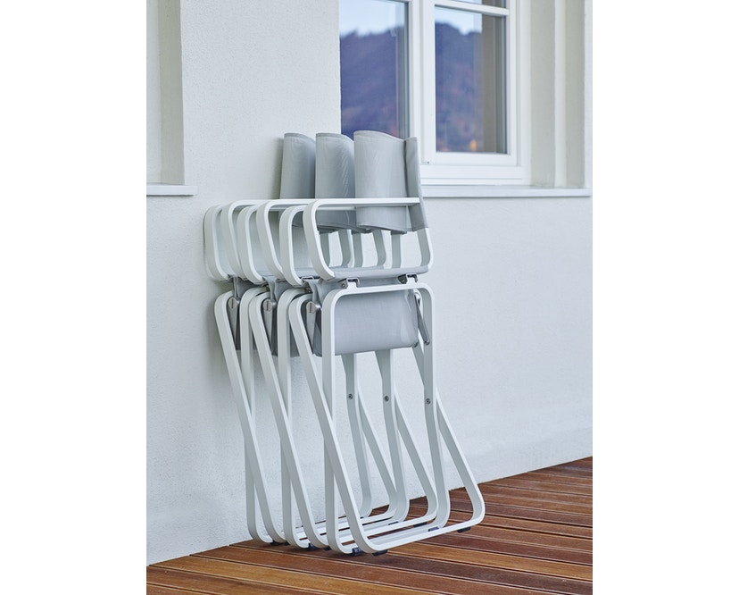 Weishäupl - Ahoi Sessel Acryltuch - weiß/Acryltuch weiß - 1