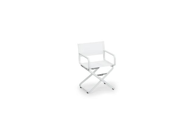 Weishäupl - Ahoi Sessel Acryltuch - weiß/Acryltuch weiß - 0
