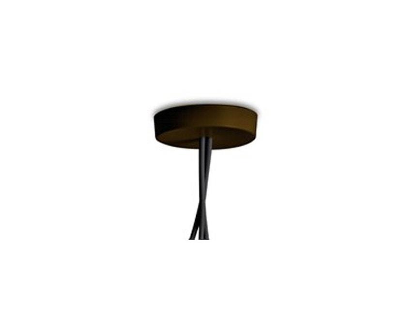 Flos - AIM veelvoud-rozet - bruin geanodiseerd - 3