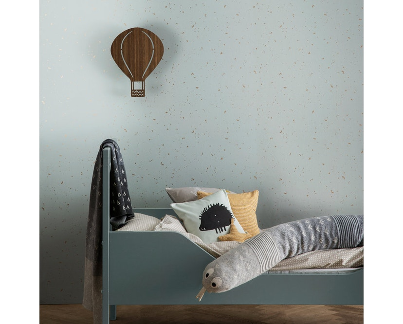 ferm LIVING - Air Balloon Wandleuchte - hellgrau - 5