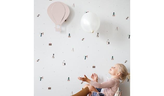 ferm LIVING - Air Balloon Wandleuchte - hellgrau - 7