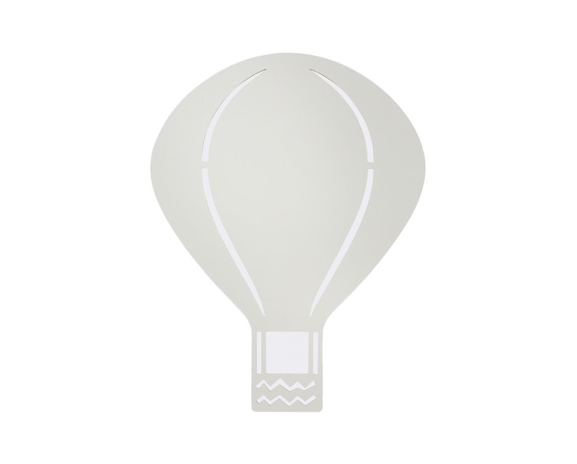 ferm LIVING - Air Balloon Wandleuchte - hellgrau - 1