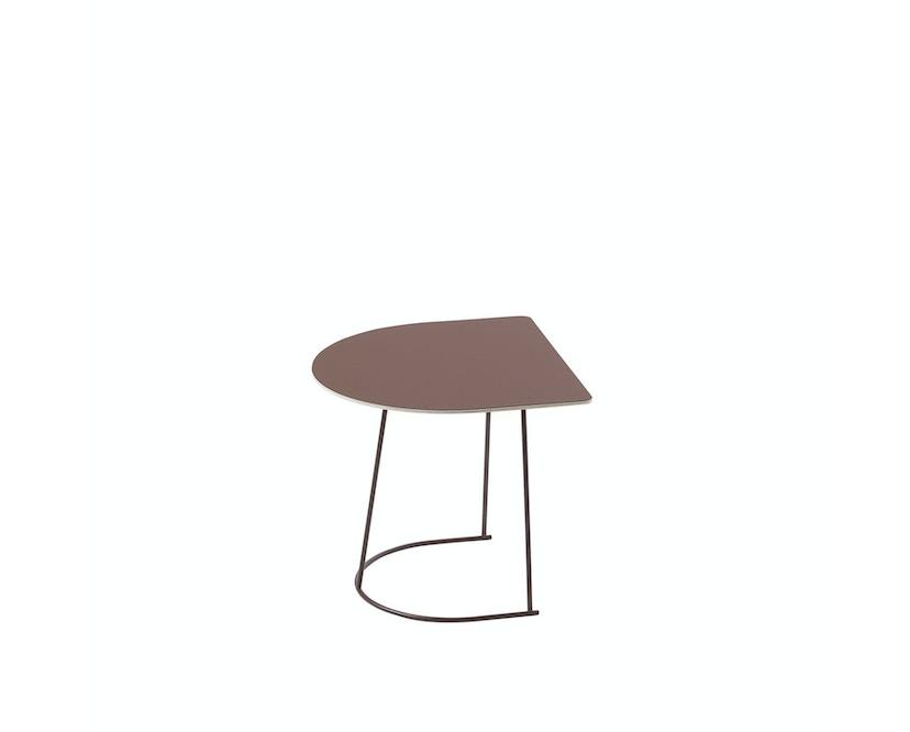 Muuto - Airy Coffee Tisch - Half Size - Plum - 2
