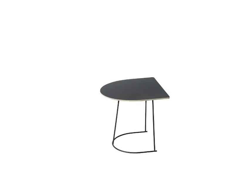 Muuto - Airy Coffee Table - zwart - halve grootte - 1