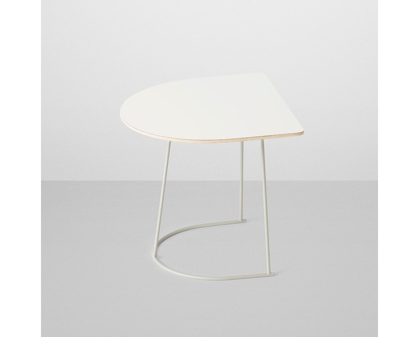 Muuto - Airy Coffee Table - Half Size - off-weiß - 1