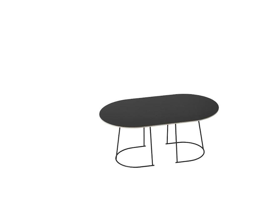 Muuto - Airy Coffee Tisch - Medium - schwarz - 1