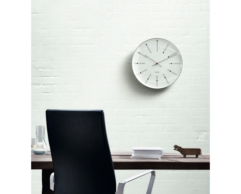 Rosendahl - AJ Bankers Clock 160 - Ø 16 - weiß - 3