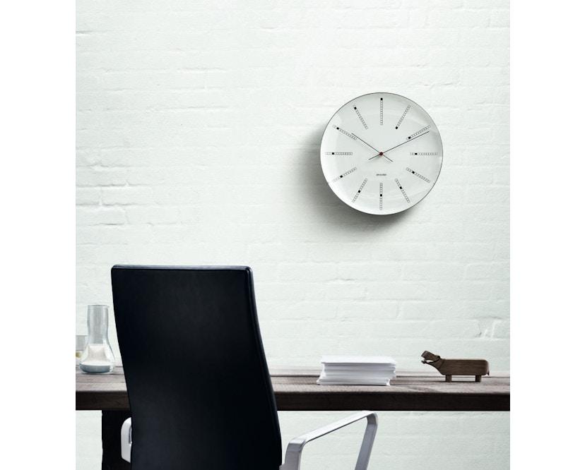 Rosendahl - AJ Bankers Clock - wit - Ø 21 cm - 3