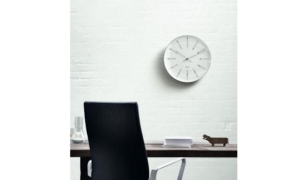 Rosendahl - AJ Bankers Clock - blanc - Ø 29 cm - 3