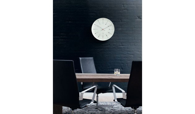 Rosendahl - AJ Bankers Clock - blanc - Ø 29 cm - 5