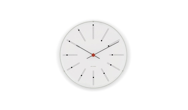 Rosendahl - AJ Bankers Clock - blanc - Ø 29 cm - 1
