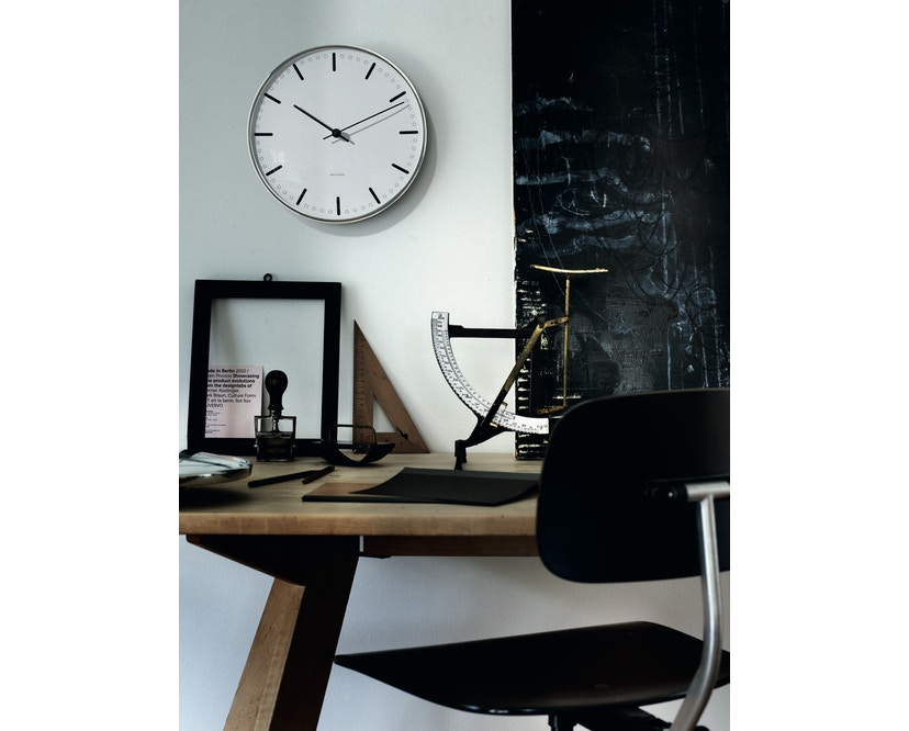 Rosendahl - AJ City Hall Clock 290 - Ø 29 - weiß - 7