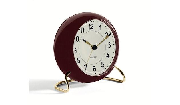 Rosendahl - AJ Table Clock Station - bordeauxrood - 3