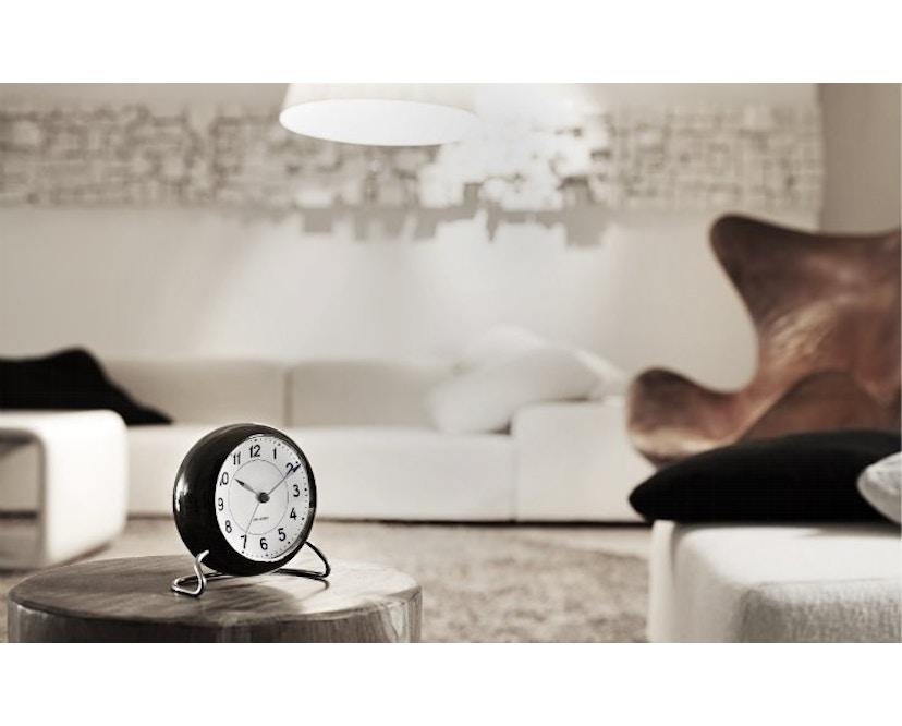 Rosendahl - AJ Table Clock Station - bordeauxrood - 5