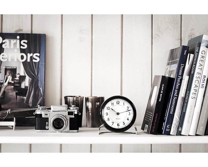 Rosendahl - AJ Table Clock Station - bordeauxrood - 6