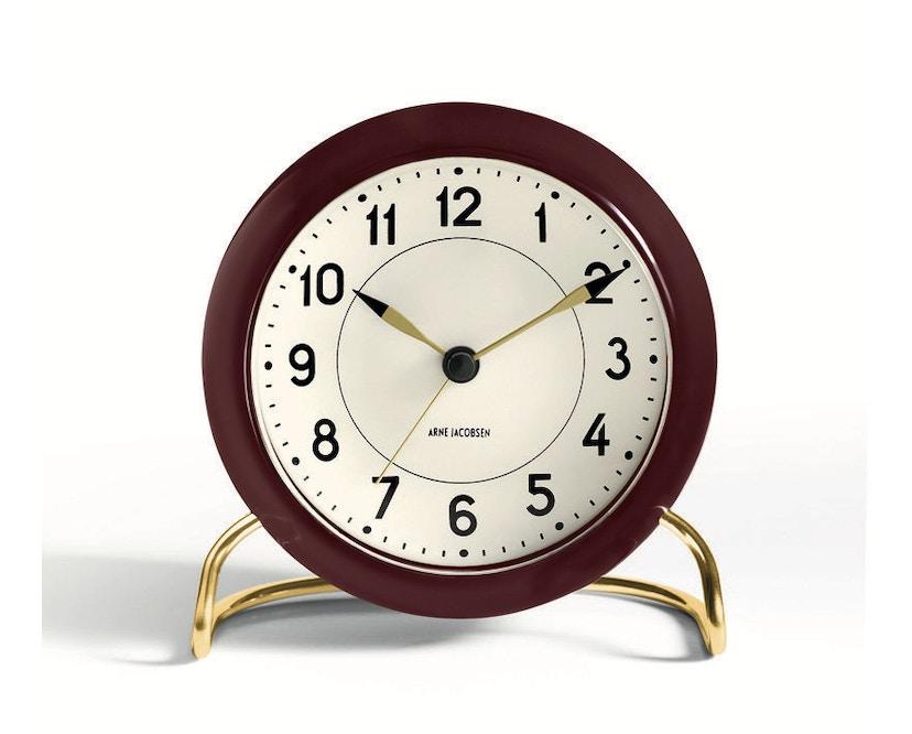 Rosendahl - AJ Table Clock Station - bordeauxrood - 1