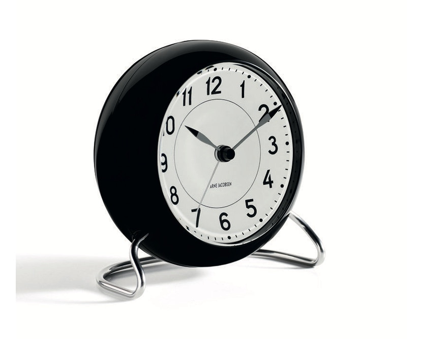 Rosendahl - AJ Table Clock Station - zwart - 3