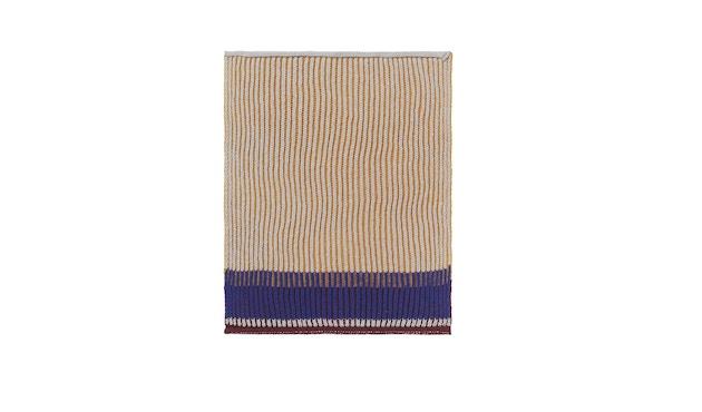 ferm LIVING - Akin Knitted Geschirtuch - Klein- 2er Set - honiggold - 1