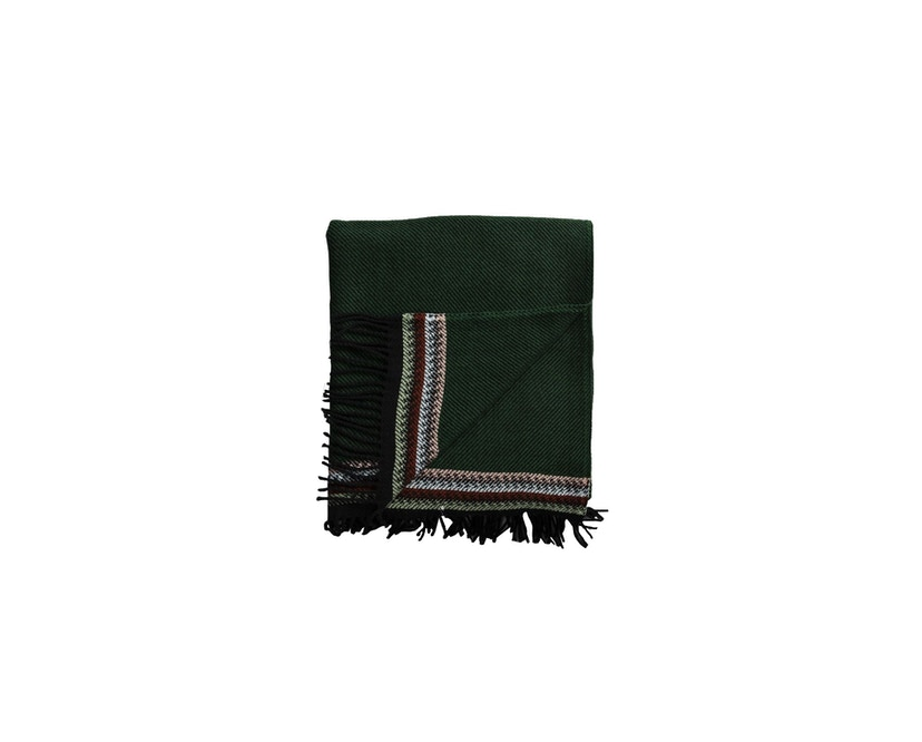 Roros Tweed - Akle Decke - dark green - 0