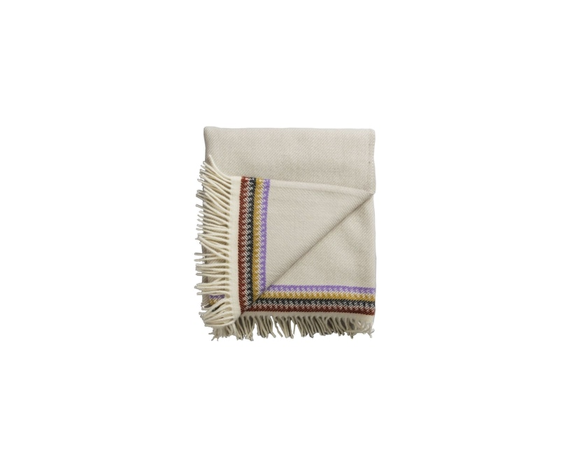 Roros Tweed - Akle Decke - light grey-beige - 0