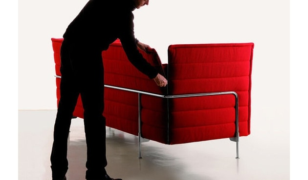 Vitra - Canapé 3 places Alcove Highback - 2