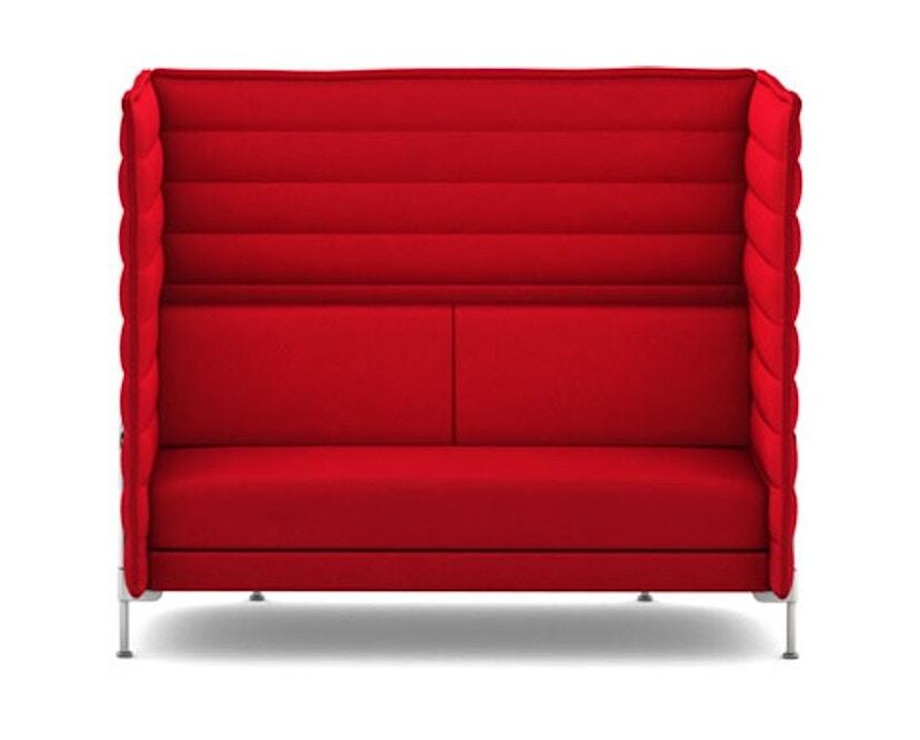 Vitra - Alcove Highback 2-Sitzer Sofa - Laser rot - 1