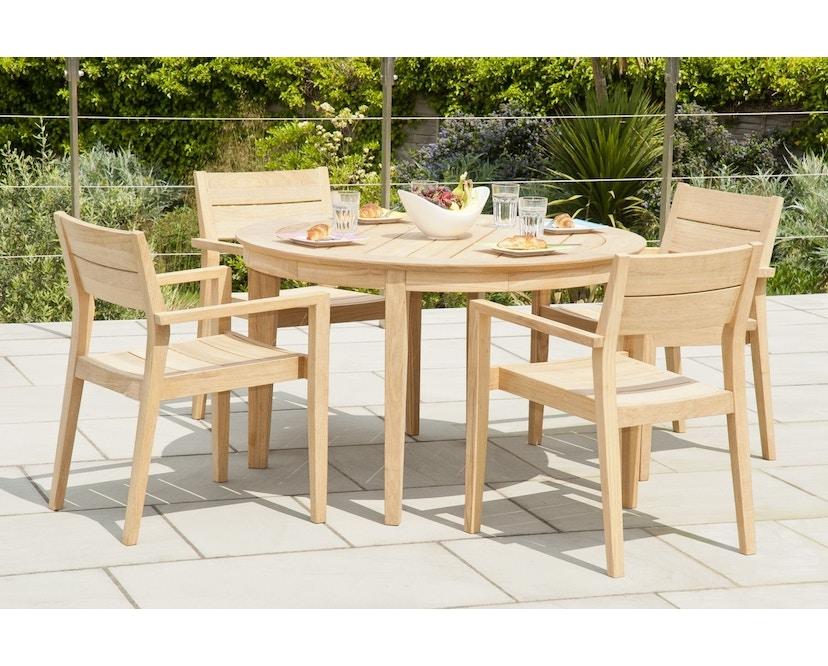 Alexander Rose - Roble Tisch rund - 125 cm - 2