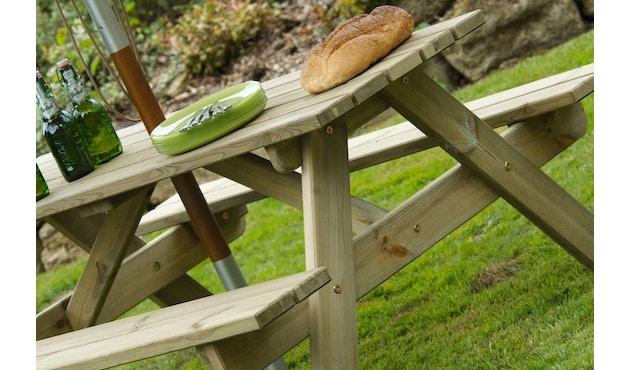 Alexander Rose - Pine Woburn Picknicktisch - 148 cm - 0