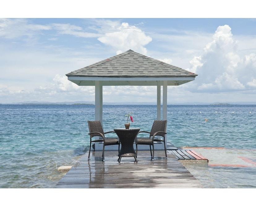 Alexander Rose - Ocean Fiji Stapelsessel mit Armlehne - 20