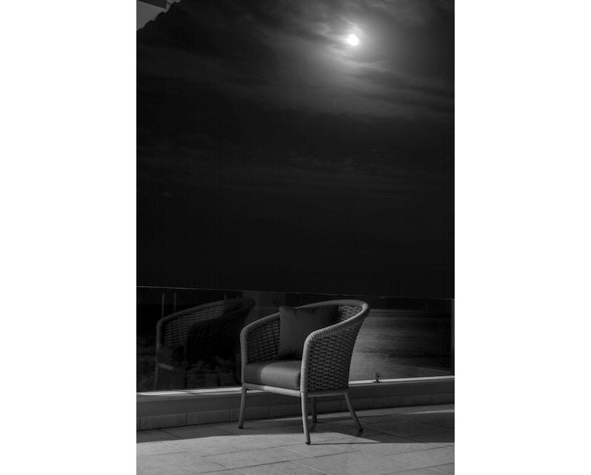 Alexander Rose - Cordial Stuhl, Lehne gerundet - grau - Bezug/Anthracite - 4
