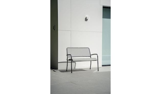 Alexander Rose - Portofino Sitzkissen für Bank - Charcoal - 7