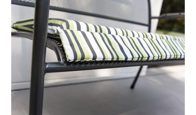 Alexander Rose - Portofino Sitzkissen für Bank - Charcoal - 5