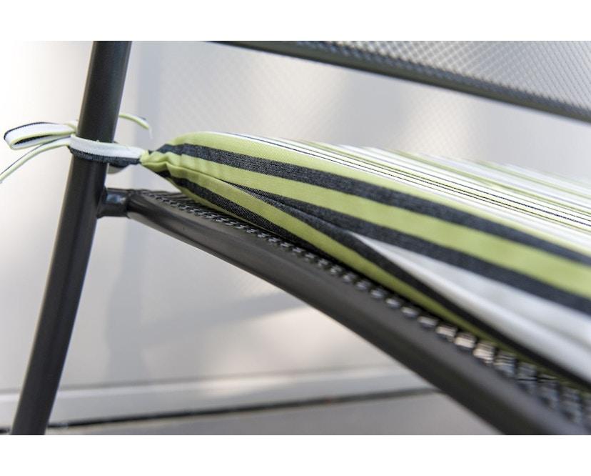 Alexander Rose - Portofino Sitzkissen für Bank - Charcoal - 4