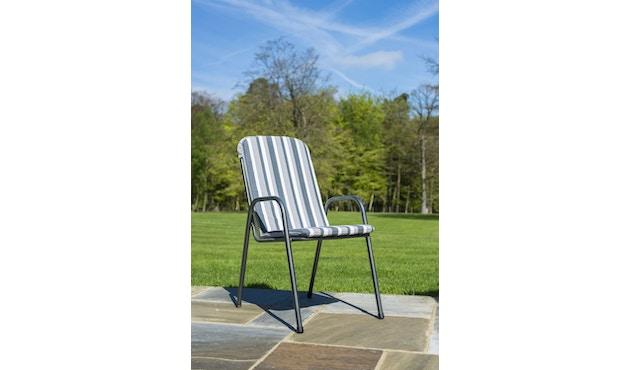 Alexander Rose - Portofino Sitzkissen für Stapelsessel - Charcoal - 4