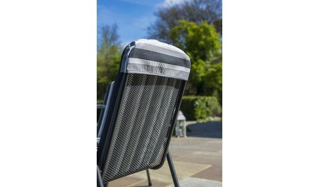 Alexander Rose - Portofino Sitzkissen für Stapelsessel - Charcoal - 3