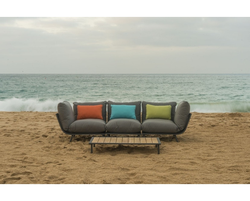 Alexander Rose - Beach Lounge Eckelement - grau - Flint - 6