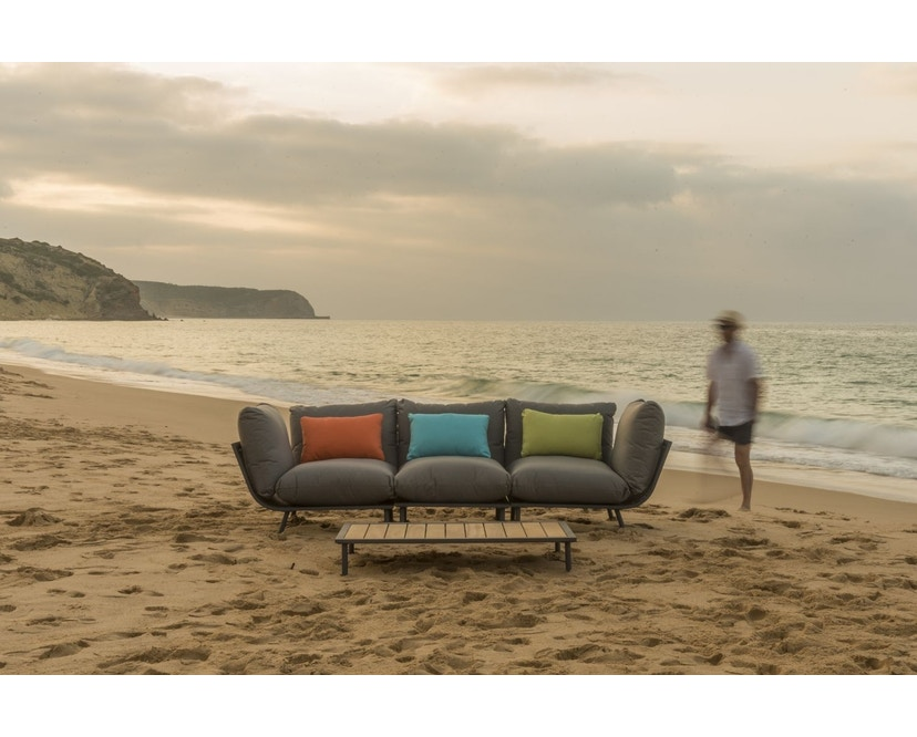 Alexander Rose - Beach Lounge Eckelement - grau - Flint - 7