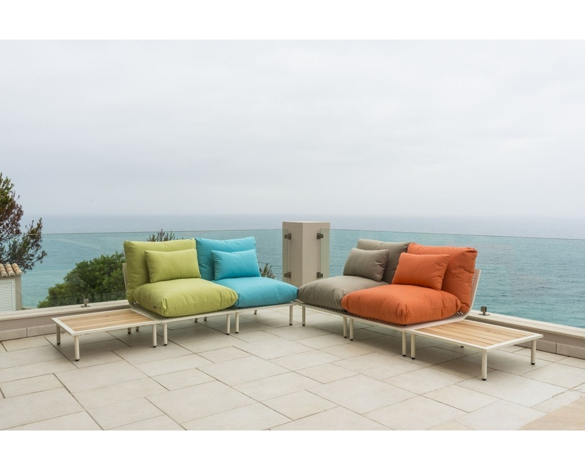 Alexander Rose - Beach Lounge Tisch - Flint - kurz - 4